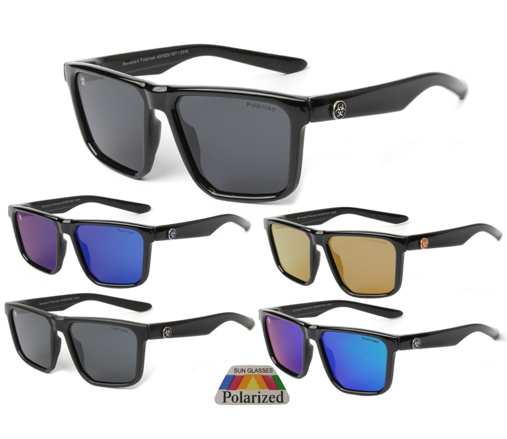 Biohazard Polarized Tint Lens Sunglasses BIO013PP