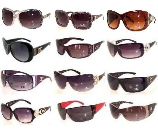 120 Pair DC & CG Sunglasses Package Sale - Click Image to Close