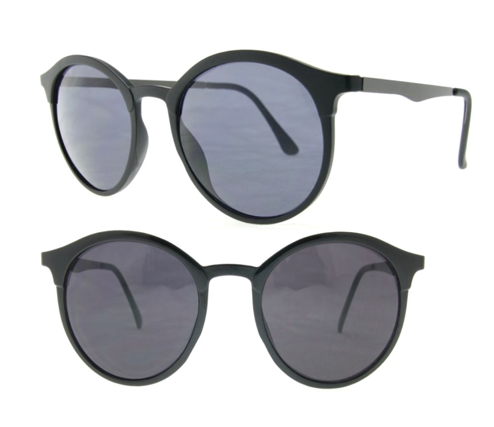 Designer Fashion Sunglasses The Byron Collections (Matt Black, Smoke Lens) SU-4277-2