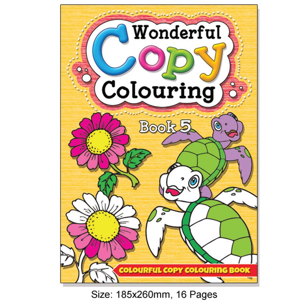 Wonderful Copy Colouring Book 5 (MM08707)