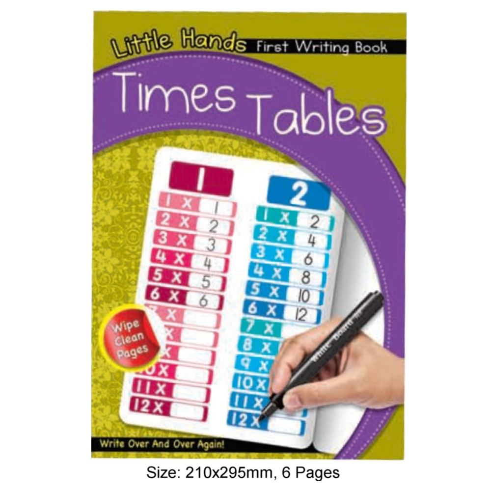 Little Hands First Writing Book Times Tabale (MM17431)