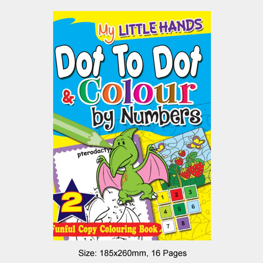 My Little Hands Dot To Dot & Colour by Numbers Book 2 (MM74959)