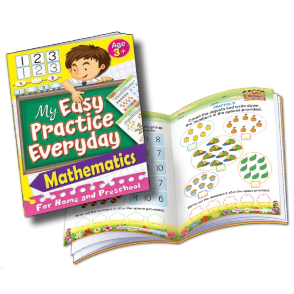 My Easy Practice Everyday Mathematics Age 3+ (MM75321)