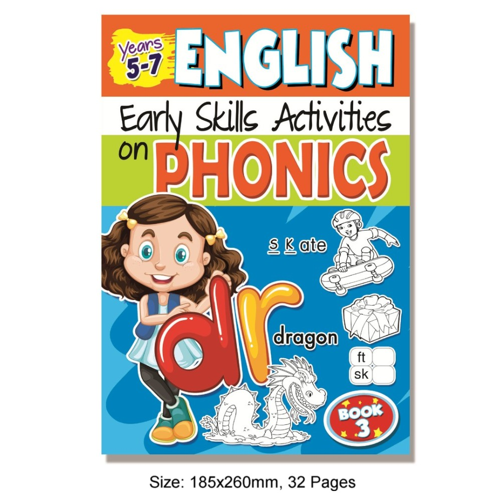 Early Skills on Phonics Book 3 (MM75598)