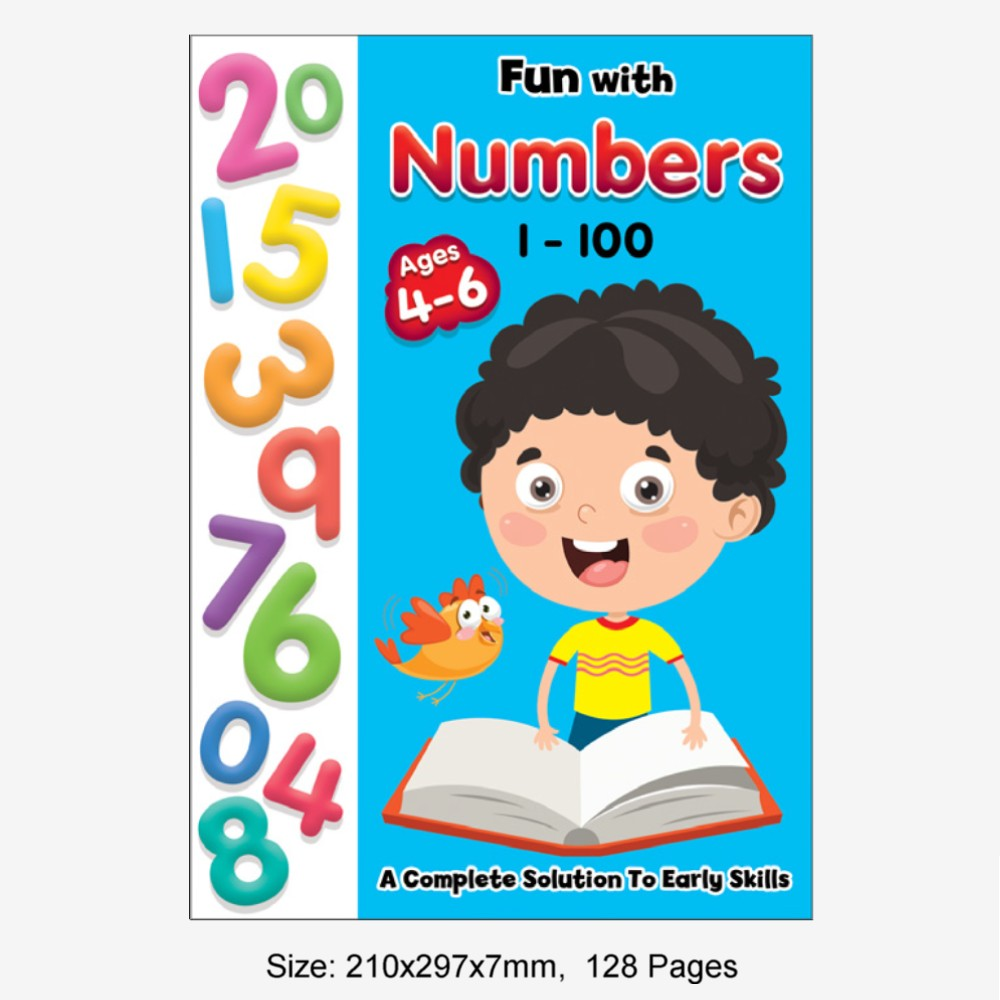 Fun With Numbers 1-100 Ages 4-6 (MM77370)