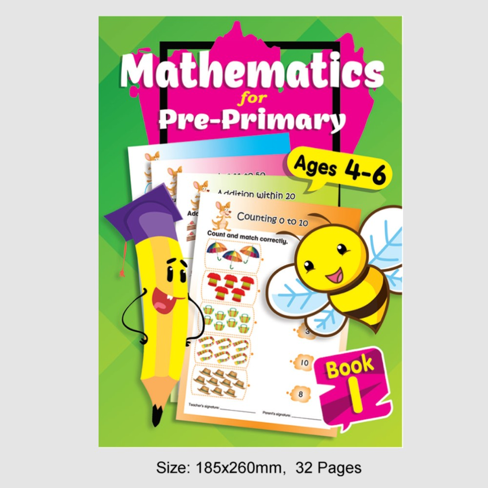 Mathematics for Pre-Primary Ages 4-6 Book 1 (MM79206)