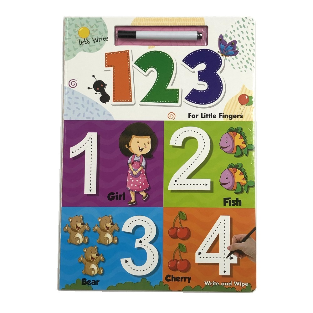 Let's Write and Wipe Numbers (For LittleI Fingers) MM79848