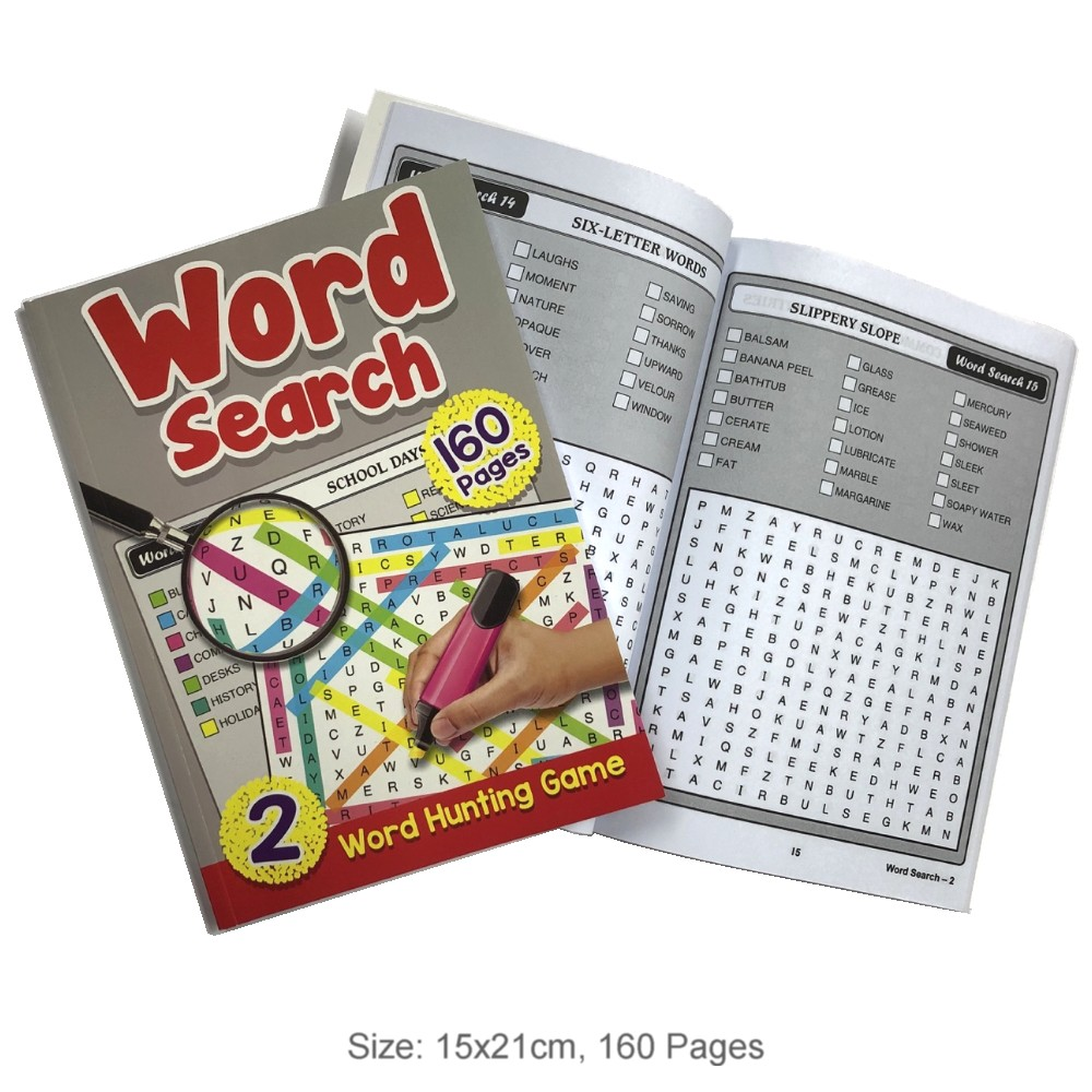 160 Pages Word Search Book 2 (MM93708)