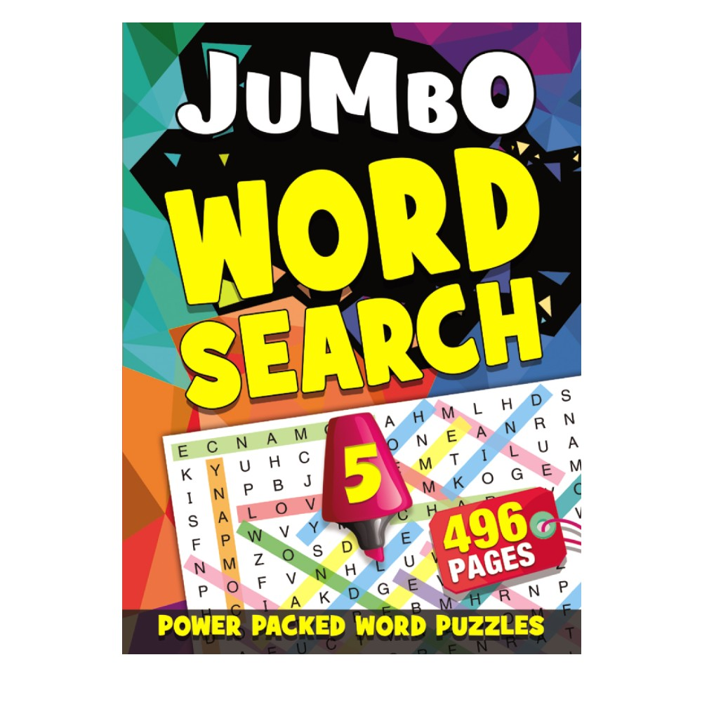 496 Pages Word Search Book 5 (MM99502)