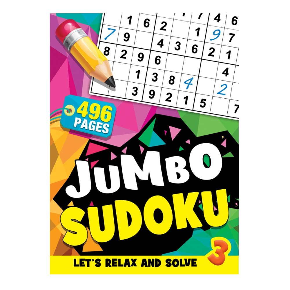 496 Pages Sudoku Book 3 (MM99700)