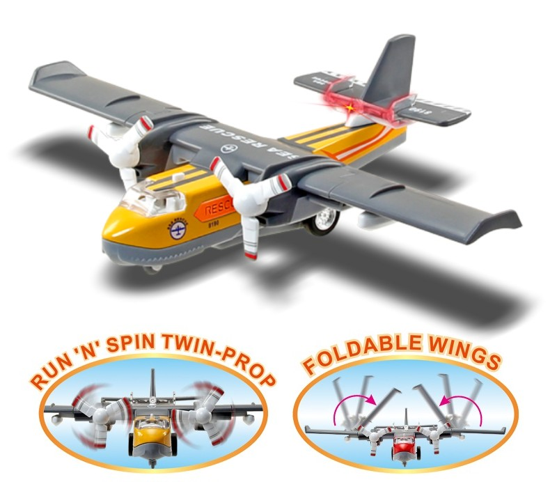 Buy 24 Pcs Sonic Water Bomber Die-cast Model Package Deal, Get 6 Pcs Free Stock