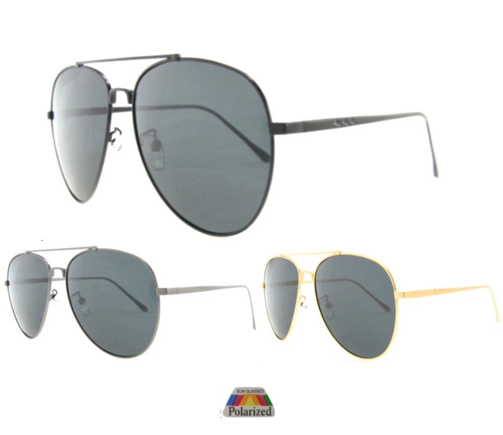 Aviator Metal Polarized Sunglasses 2005-S-P