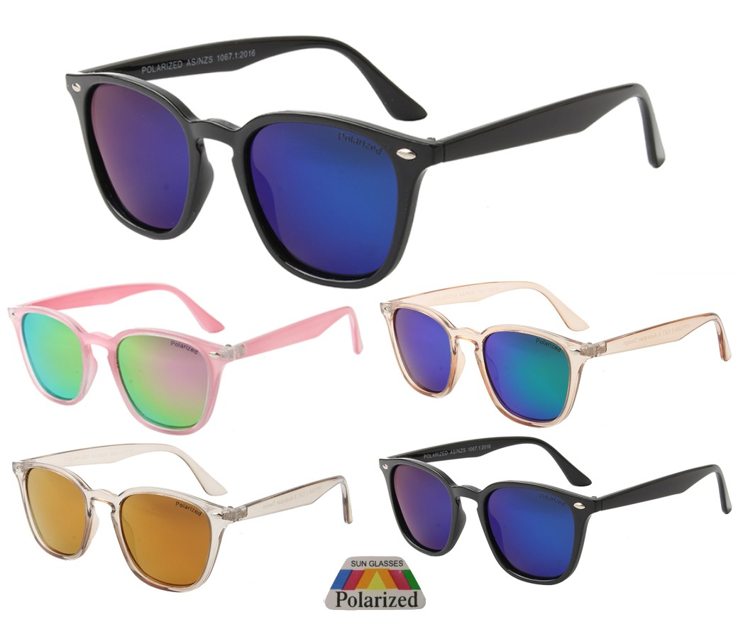 The Bondi Collection Fashion Plastic Polarized Tinted Lens Sunglasses PPF5309-2