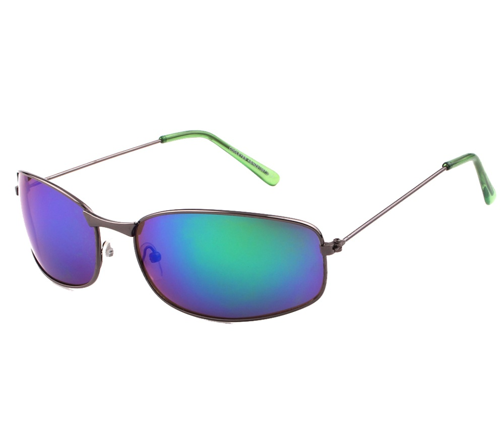 Sports Metal Reflection Mrror Lens Sunglasses SM4041-2