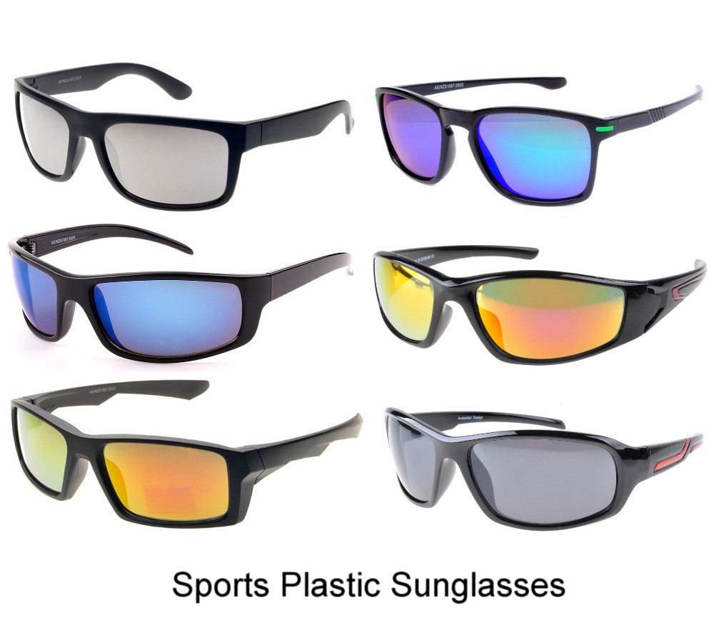 Sports Plastic Sunglasses Sample Pack