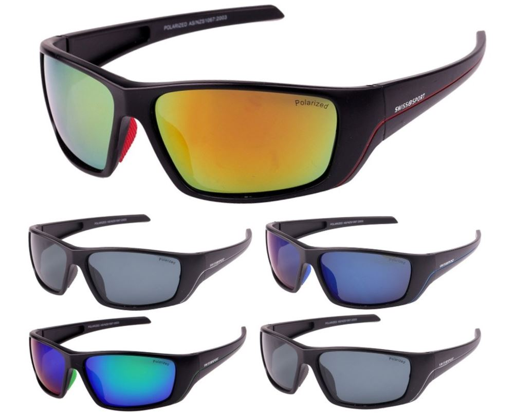 Swisssport Tinted Lens Polarized Sunglasses SWP284