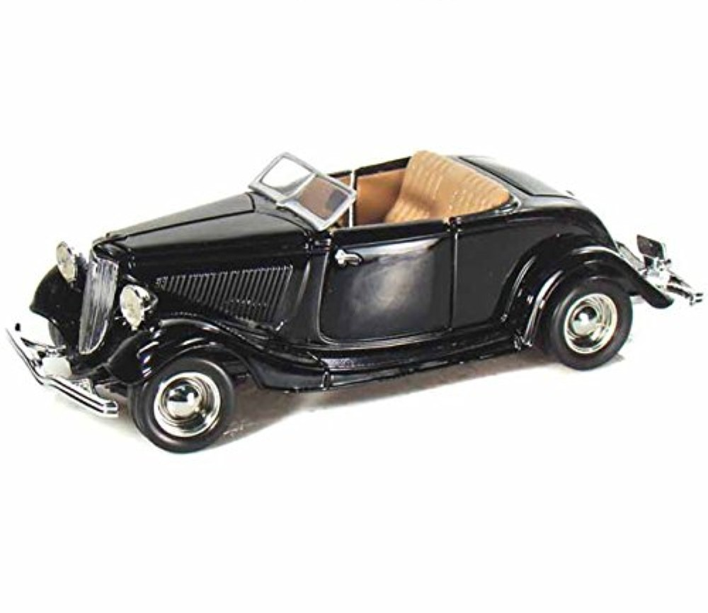 1:24 1934 Ford Coupe (Convertible) Black MM73218BK