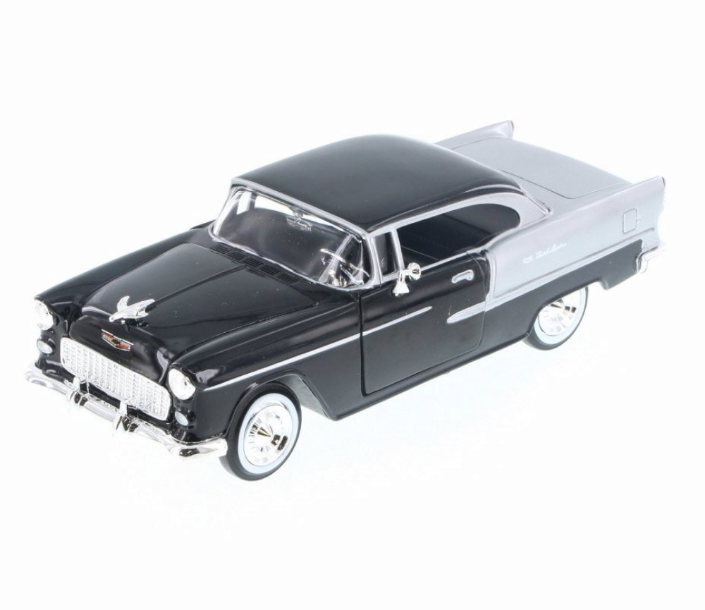 1:24 1955 Chevy Bel Air (Black) MM73229BK