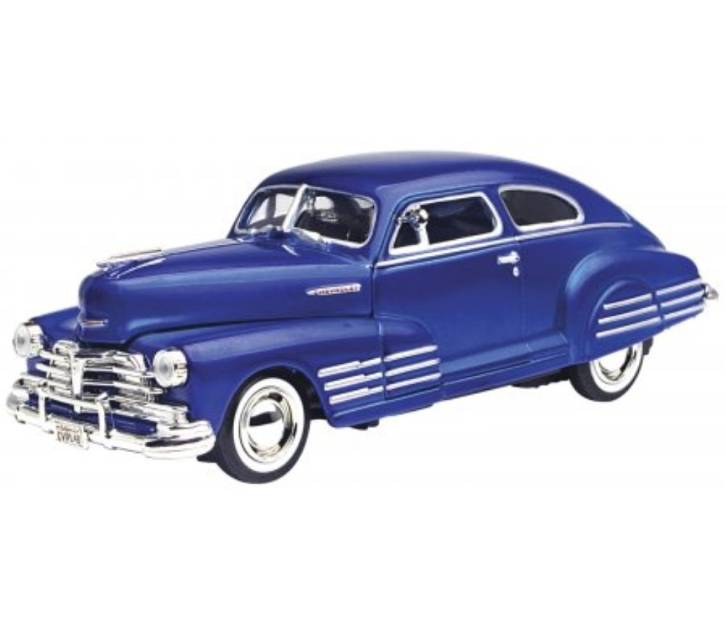 1:24 1948 Chevrolet Aerosedan Fleetline (Metallic Blue) MM73266MB