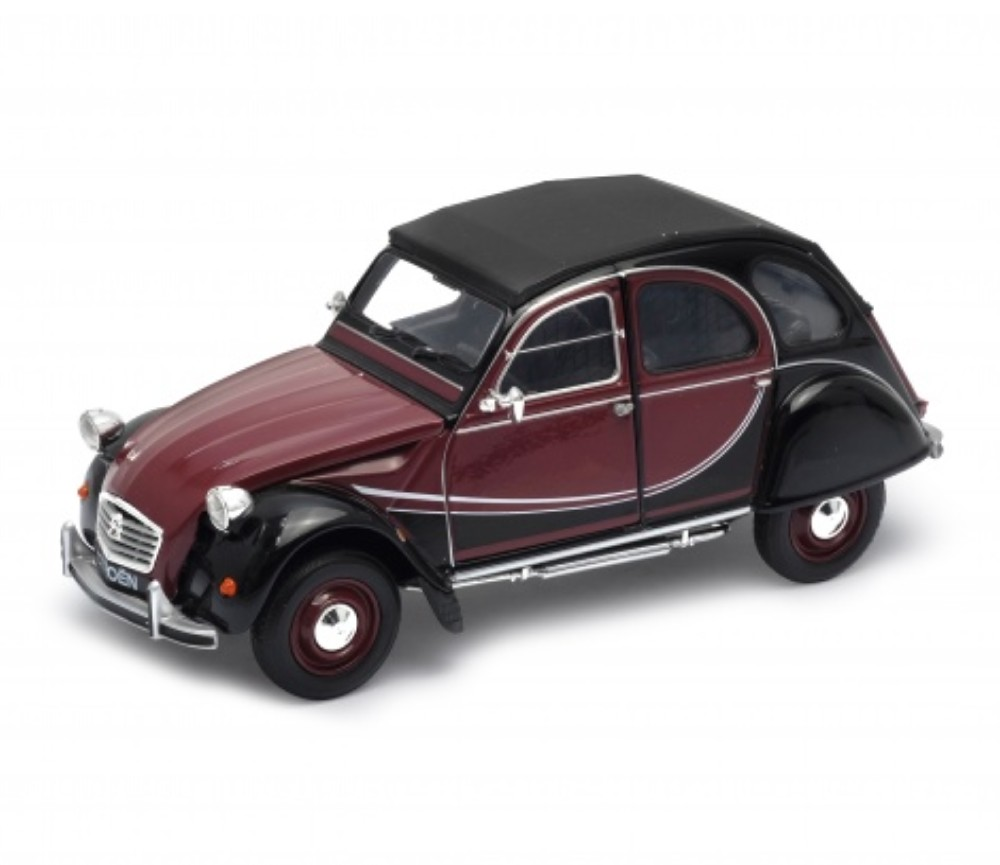 1:24 Citroen 2CV 6 Charleston (Brown Red) WL24009W