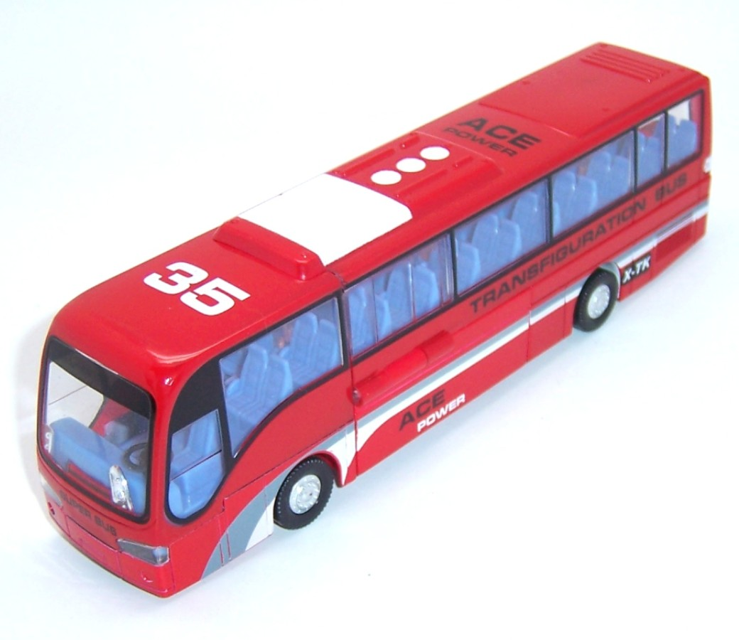 Diecast Transformer Bus MZ25008B
