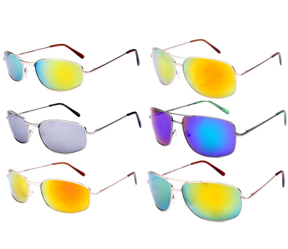 Xsports Metal Frame Tinted Lens Sunglasses Sample Pack
